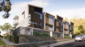 Multi-residential architectural design by Paul Ziukelis Architects Gold Coast