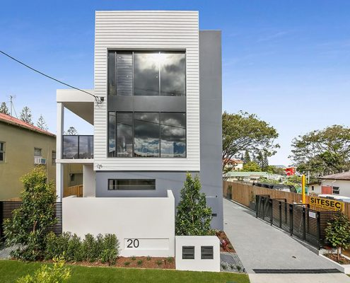 Multi-residential design by Paul Ziukelis Architects Gold Coast