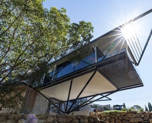 Residential architectural design by Paul Ziukelis Architects Gold Coast